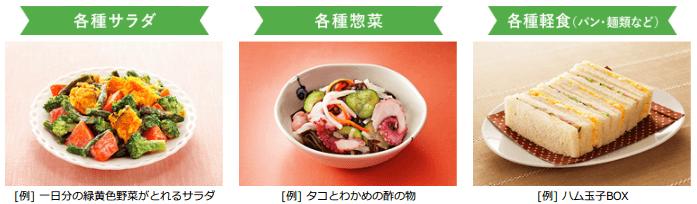 コープデリ(デイリーコープ)の惣菜