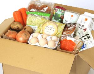 ローソンフレッシュの食材宅配サービス