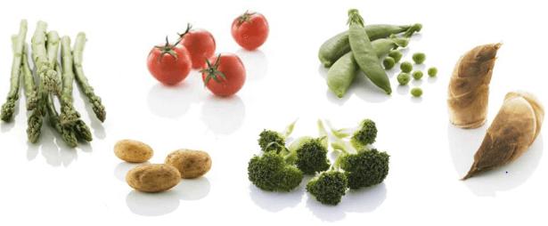ビオマルシェの有機野菜