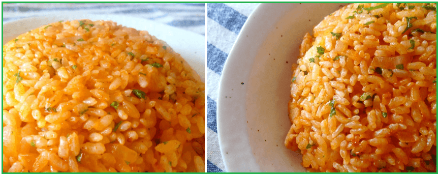 ローソンフレッシュの有機トマトケチャップで作ったチキンライス