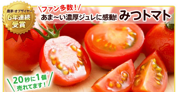 オイシックスのお試しセットに入っている「あめトマト」
