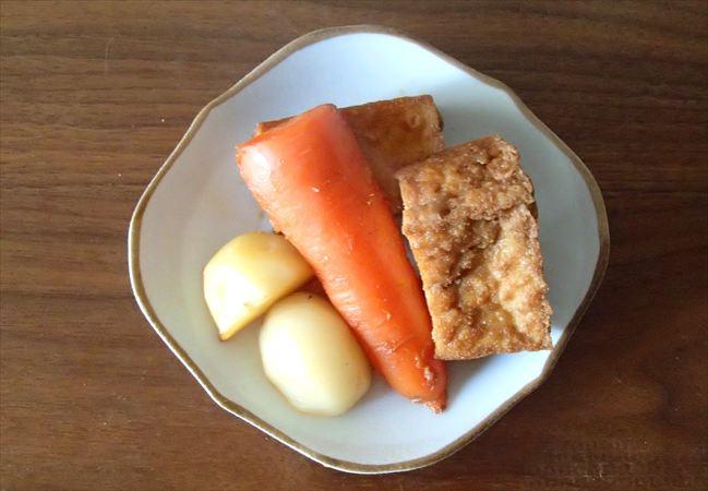 パルシステムの野菜で作った煮物