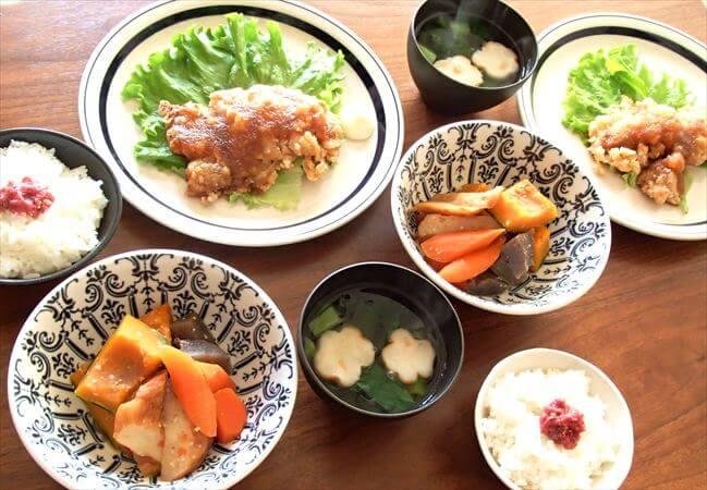 ヨシケイの料理キットで作った「チキンおろし竜田」