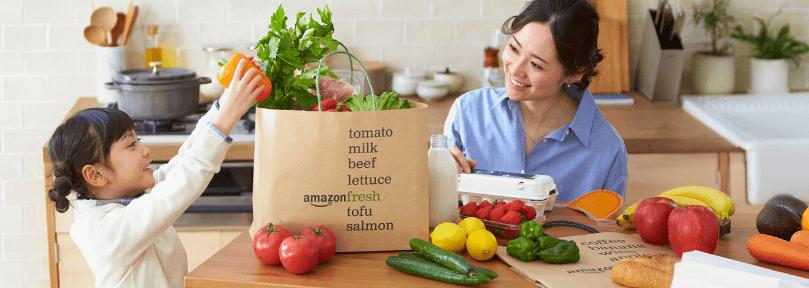 アマゾンフレッシュの生鮮食品