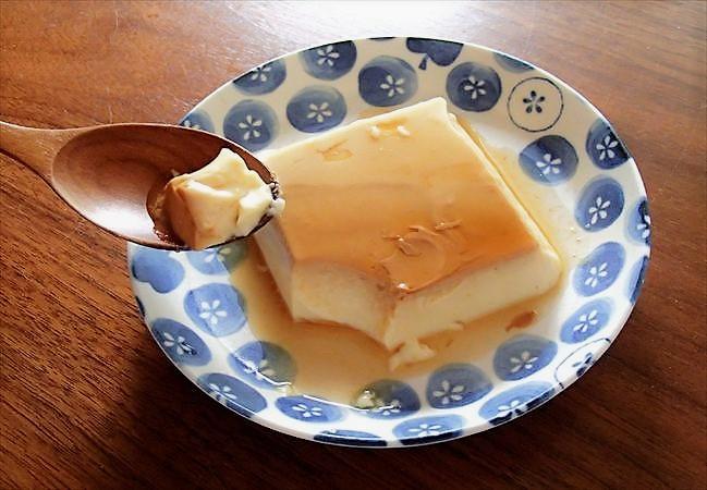 大地宅配の豆乳プリン