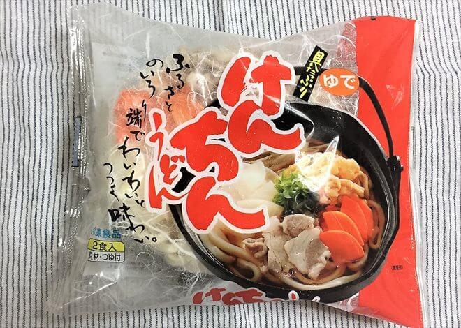 けんちんうどん(パルシステムの冷凍食品)