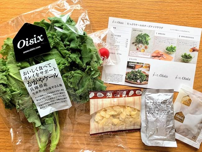 kit oisix・ケールのチーズナッツサラダ(お試しセット)
