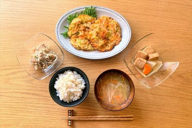 わんまいるの食事セット(桜えびのかき揚げ)
